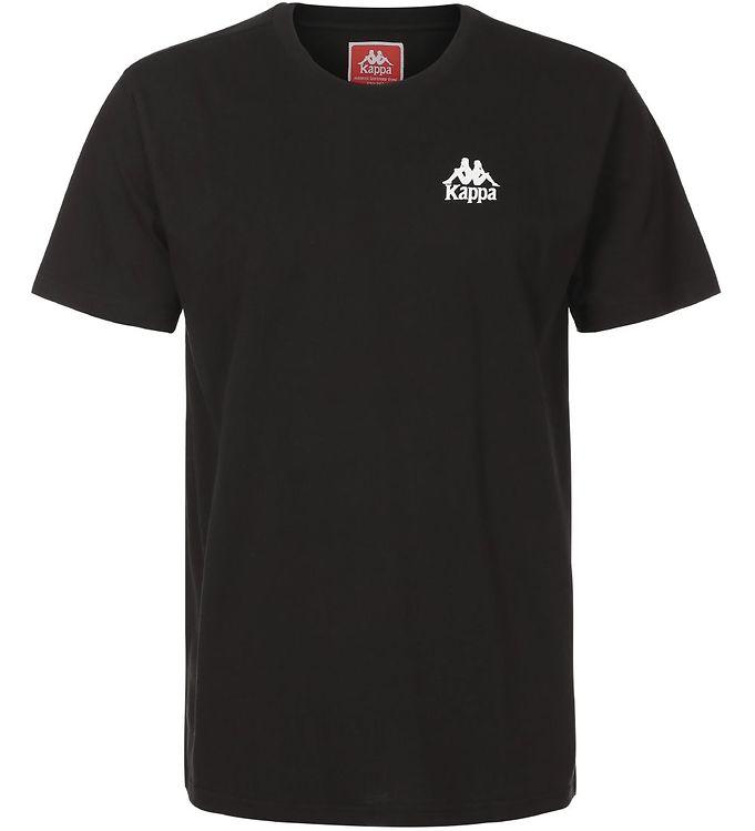 Image of Kappa T-shirt - Wollie - Sort m. Logo (SJ410)