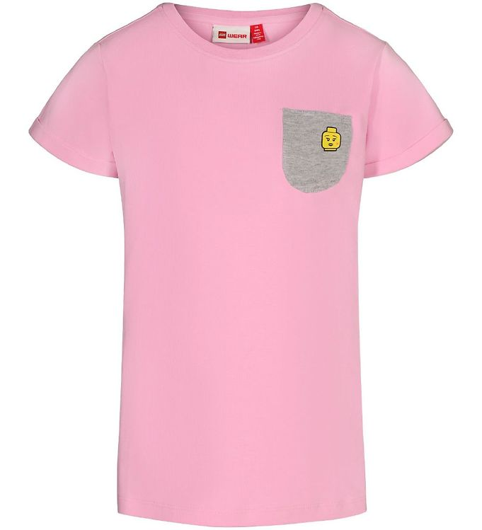 Image of Lego Wear T-shirt - LWTone - Rosa m. Lomme (SK020)