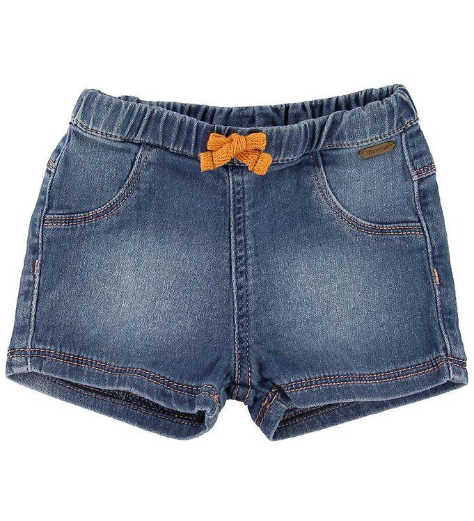 Image of Minymo Shorts - Copper Tan/Denim (SK165)