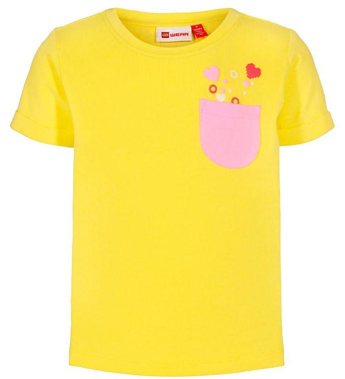 Image of Lego Duplo T-shirt - LWTonja - Gul m. Lomme (SK178)
