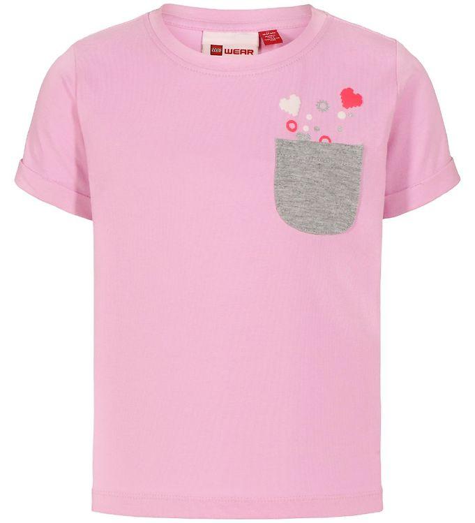 Image of Lego Duplo T-shirt - LWTonja - Rosa m. Lomme (SK200)