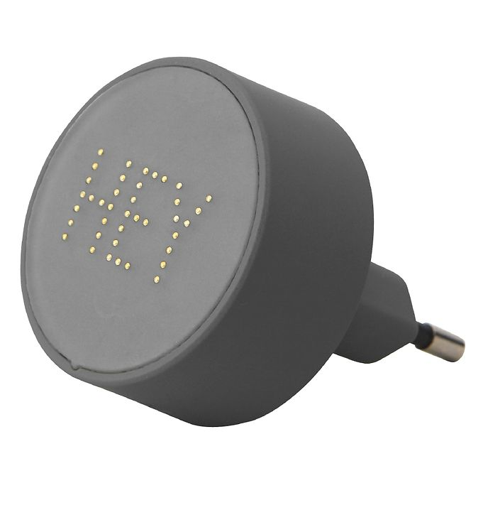 Image of Design Letters Adapter - 12W - Grå/Hey m. Perler (SK425)