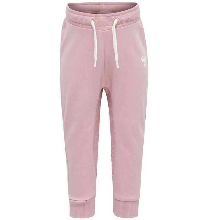 Hummel Sweatpants - HMLApple - Mauve Shadow - Bukser - Basis,Hummel Bukser,Hummel Noos,Pigetøj,Sweatpants - Hummel