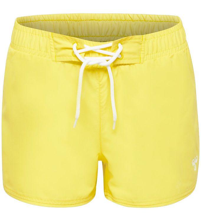Hummel Badeshorts - Coco - UV50+ - Lys Gul - Badeshorts,Hummel Badetøj,Hummel SS20,Pigetøj - Hummel
