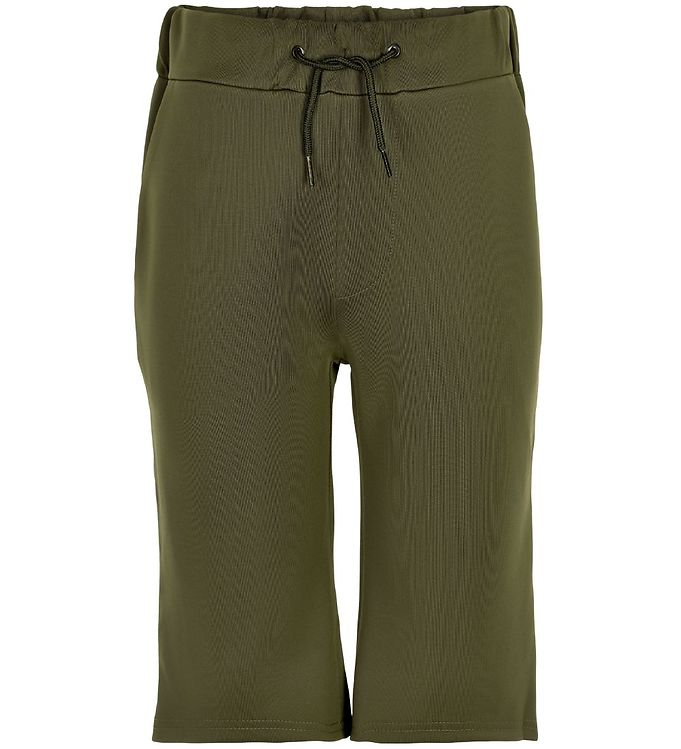 Image of Cost:Bart Shorts - Iron - Army m. Stribe (SK730)