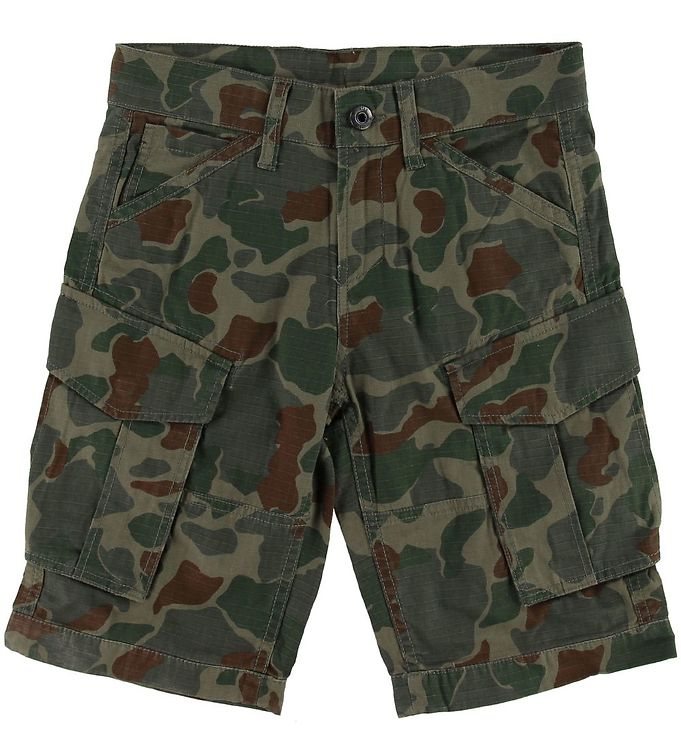 Image of G-Star RAW Shorts - Rovic - Sage Battle Green (SK772)