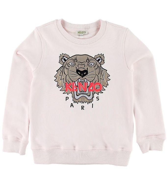 Image of Kenzo Sweatshirt - Tiger - Rosa (SK912)