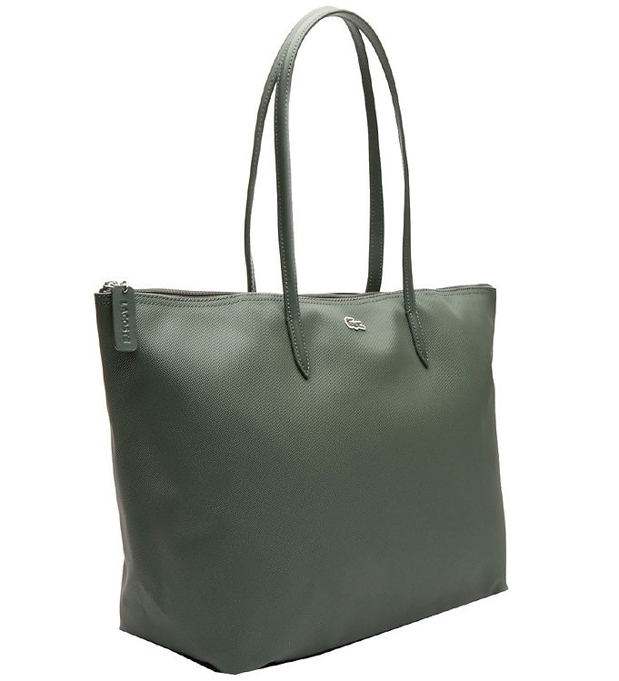 Image of Lacoste Taske - Small Shopping Bag - Thyme (SK997)