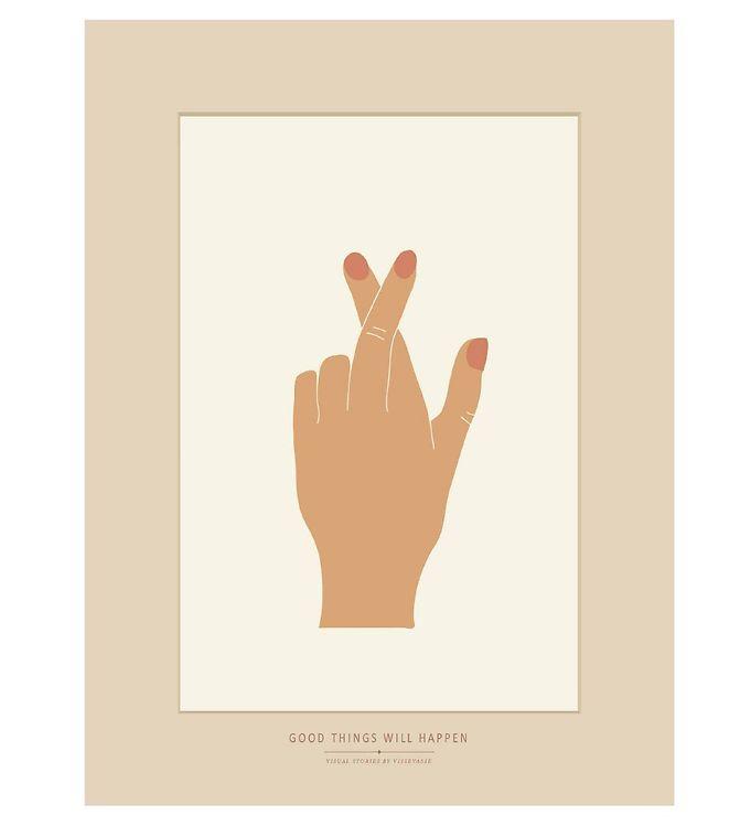 Image of Vissevasse Plakat - 30x40 - Good Things Will Happen (SL026)