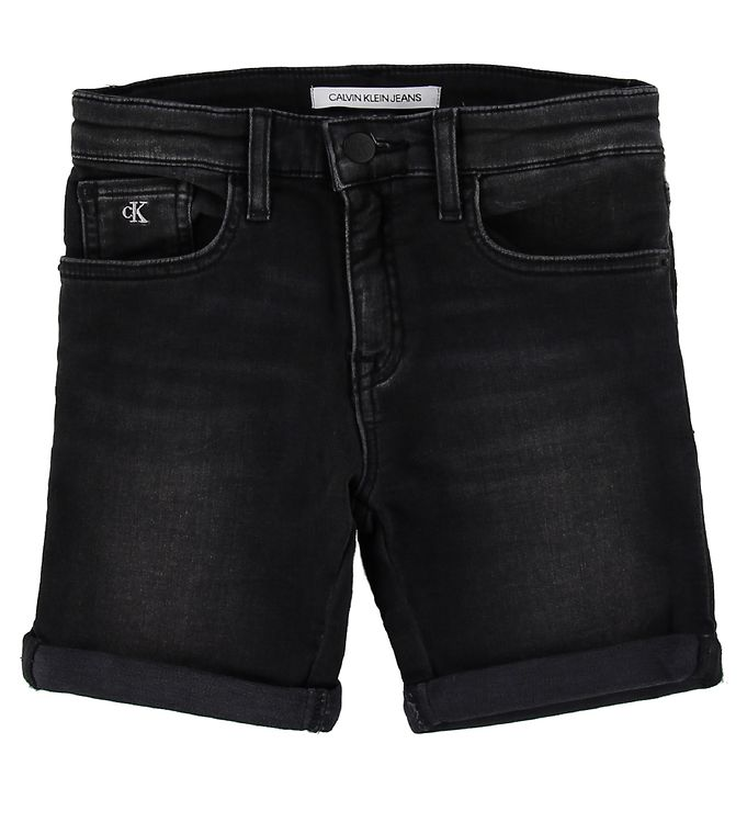 Image of Calvin Klein Shorts - Slim Short - Athletic Black (SL114)