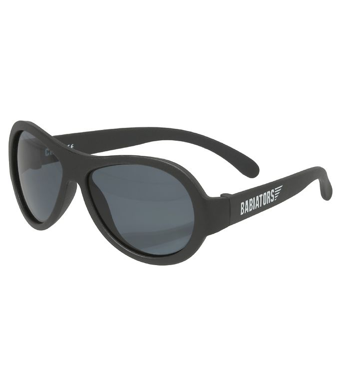 Image of Babiators Solbriller - Aviator - Black Ops Black (SL159)