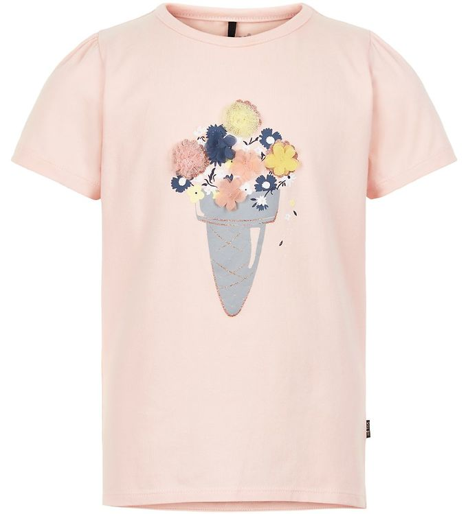 Image of Me Too T-shirt - Chintz Rose m. Blomster (SL204)