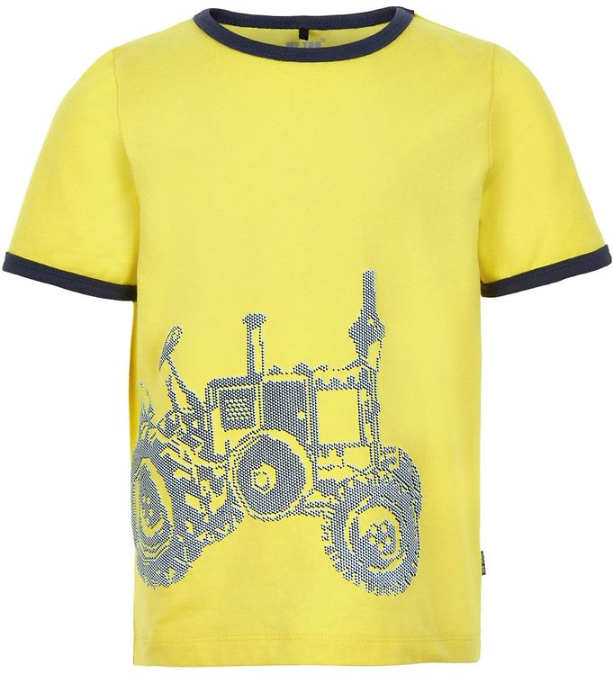 Image of Me Too T-shirt - Lemon Yellow m. Traktor (SL238)