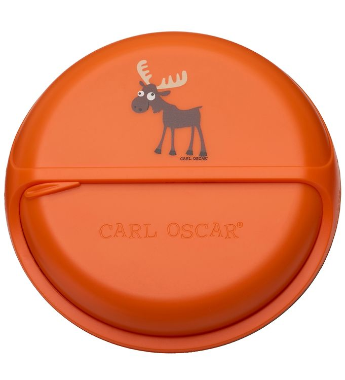Image of Carl Oscar Snackboks - BentoDISC - 18 cm - Orange Moose (SL502)