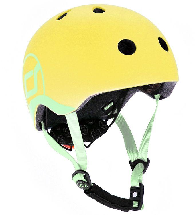 Image of Scoot and Ride Cykelhjelm - Lemon (SL616)