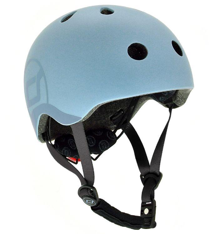 Image of Scoot and Ride Cykelhjelm - Steel (SL621)