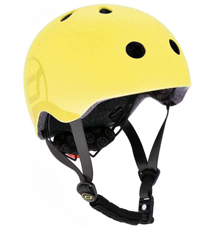 Image of Scoot and Ride Cykelhjelm - Lemon (SL625)
