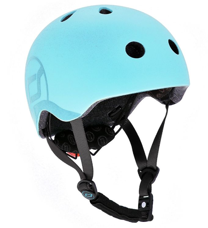 Image of Scoot and Ride Cykelhjelm - Blueberry (SL626)