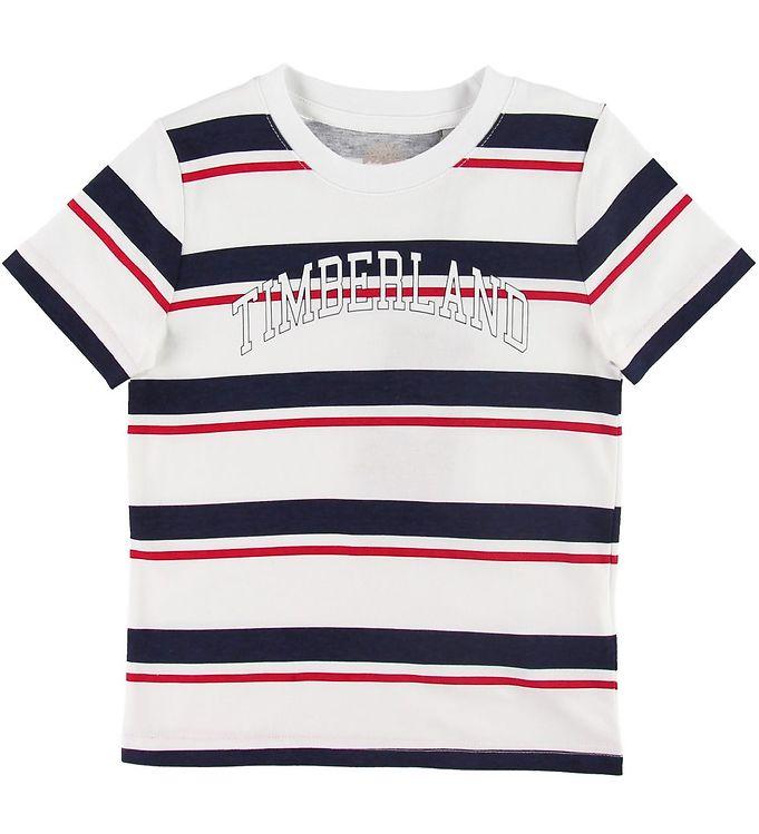 Timberland T-shirt - Hvid m. Striber