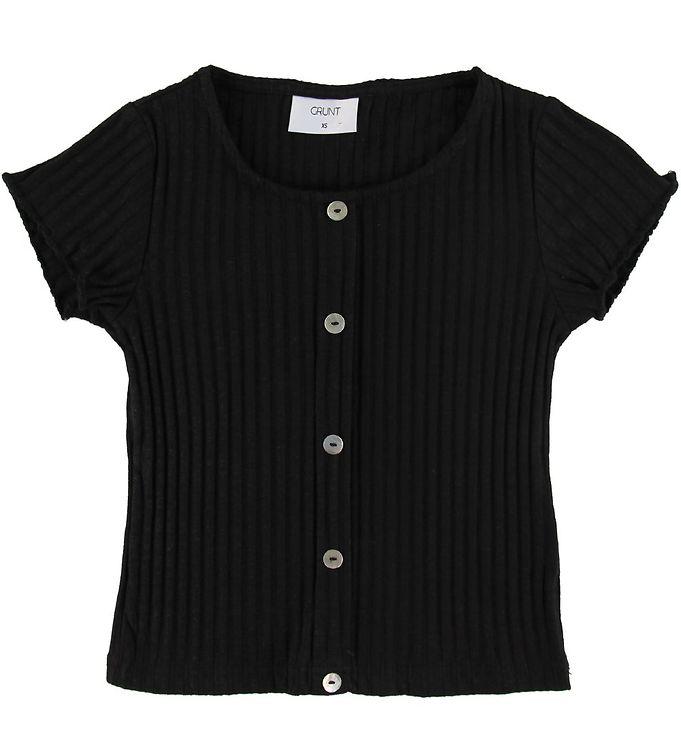 Image of Grunt T-shirt - Hin - Rib - Sort (SM329)