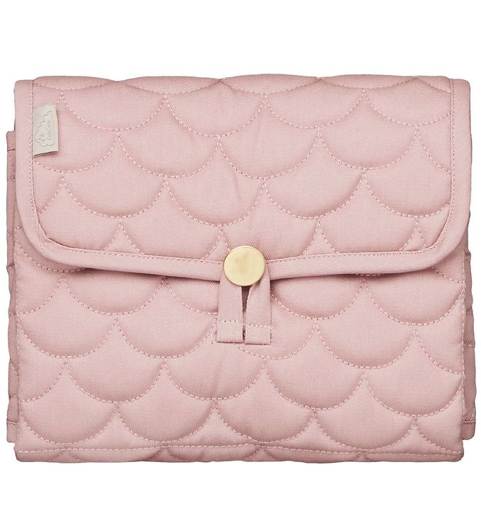 Image of Cam Cam Pusleunderlag - 86x44 - Quilted - Soft Rose (SM501)