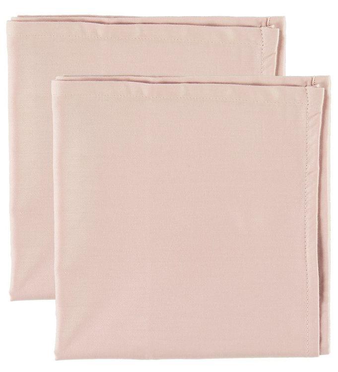 Cam Cam Underlag til Babynest - 80x40 - 2-pak - Blossom Pink