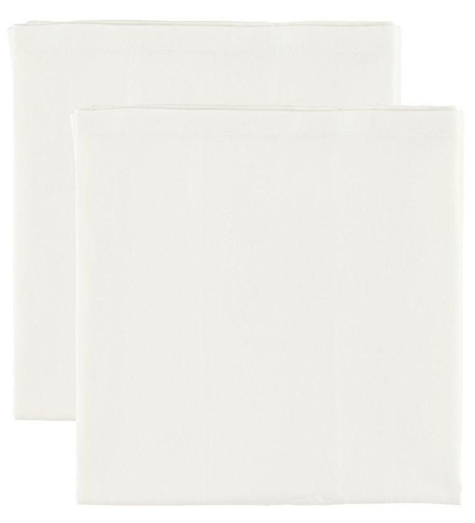 Cam Cam Underlag til Babynest - 80x40 - 2-pak - Creme White