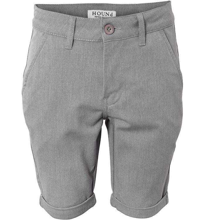 Image of Hound Shorts - Chino - Gråmeleret (SM567)