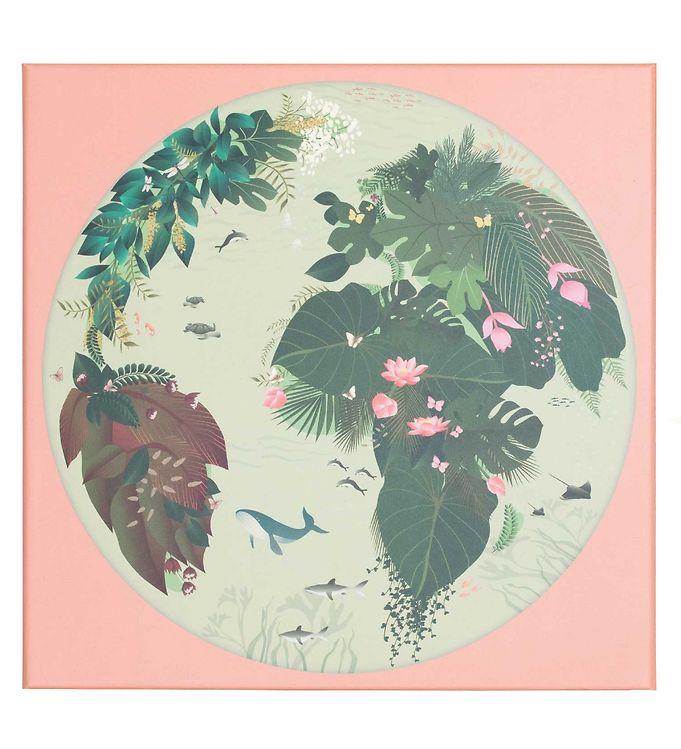 Vissevasse Puslespil - 500 Brikker - I Love Mother Earth