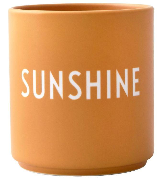 Image of Design Letters Kop - Favourite Cups - Porcelæn - Gul Sunshine (SN158)