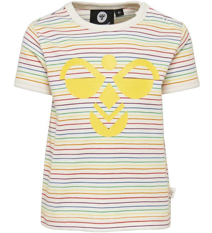 Hummel T-shirt - HMLRainbow - Drengetøj,Hummel SS20,Hummel T-shirt,Pigetøj,Unisex - Hummel