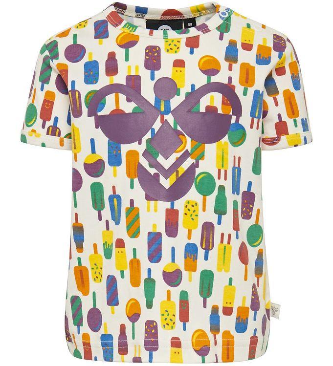Hummel T-shirt - HMLPopsicle - Multi - Drengetøj,Hummel SS20,Hummel T-shirt,Pigetøj,Unisex - Hummel