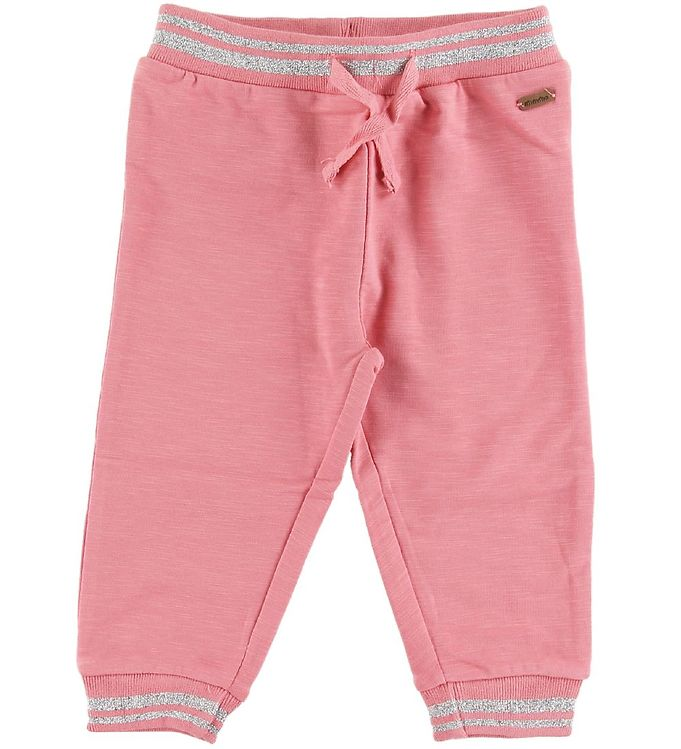 Image of Minymo Sweatpants - Brandied Apricot m. Glimmer (SN921)