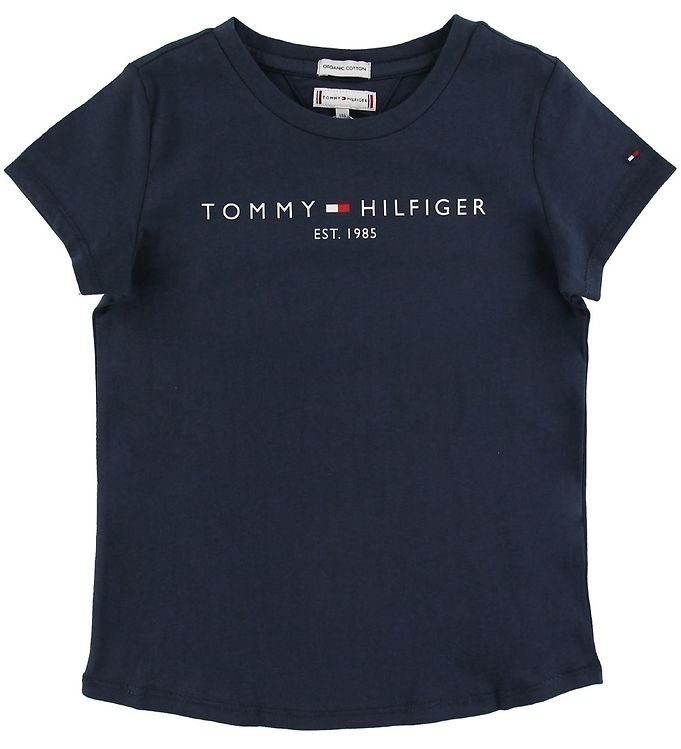 Image of Tommy Hilfiger T-shirt - Essential - Navy (SO009)