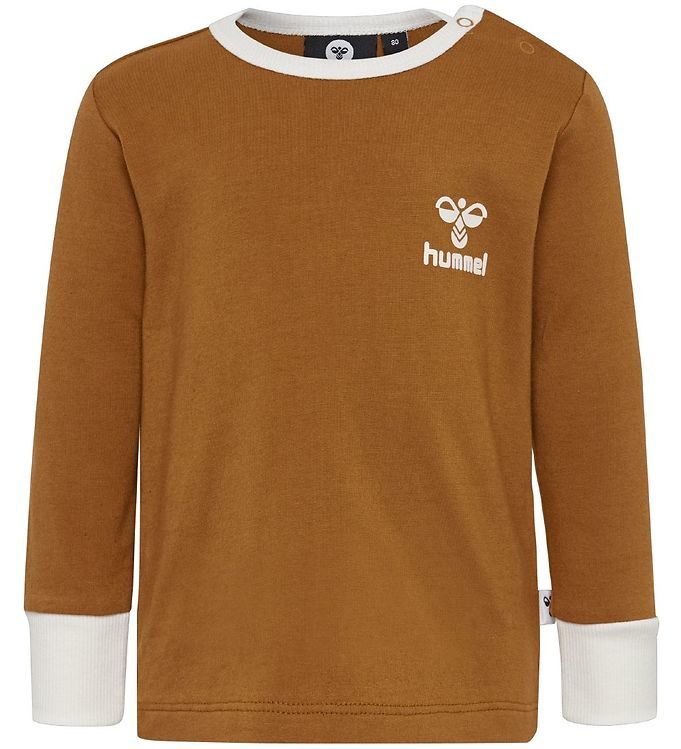 Hummel Bluse - HMLMaui - Brun - Drengetøj,Hummel Bluse,Hummel SS20,Pigetøj,Unisex - Hummel