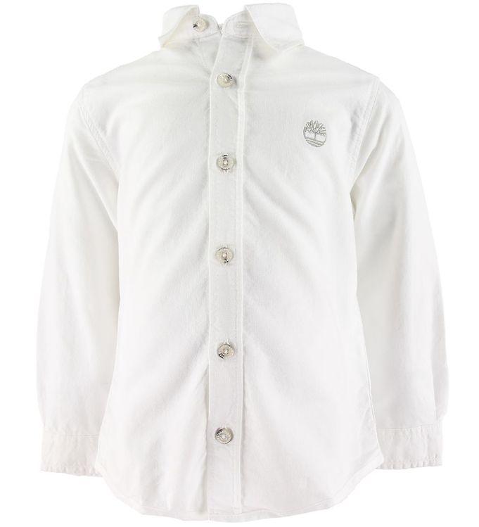Timberland Skjorte - Hvid m. Logo