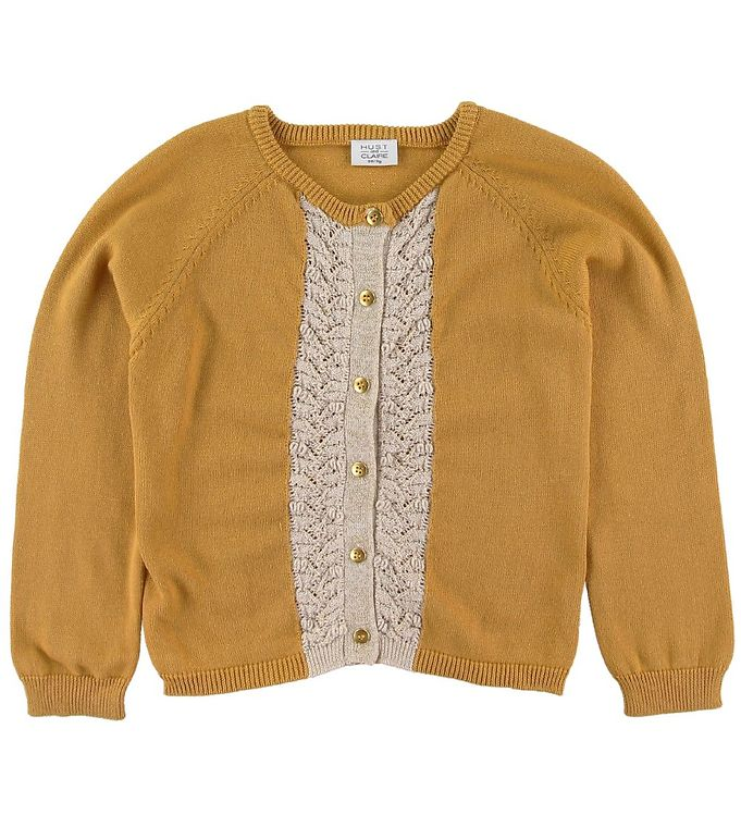 Image of Hust and Claire Cardigan - Carrie - Gul (SP160)