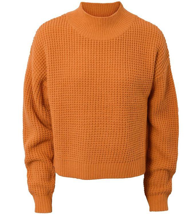 Image of Hound Bluse - Strik - Orange (SP248)