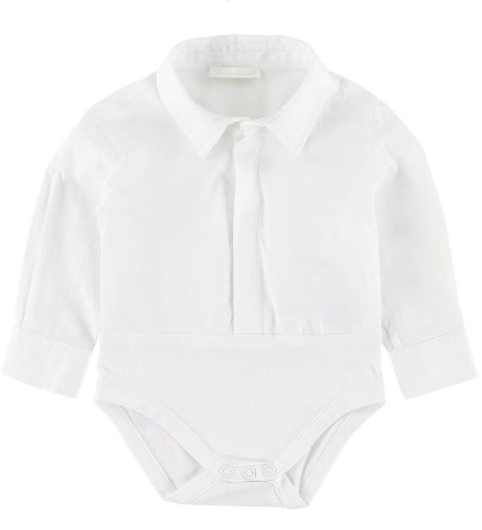 Image of Dolce & Gabbana Skjortebody l/æ - Hvid (SP482)