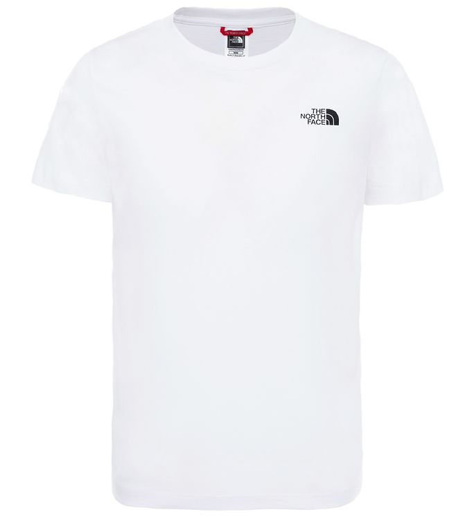 Image of The North Face T-shirt - Simple Dome Tee - Hvid (SQ529)