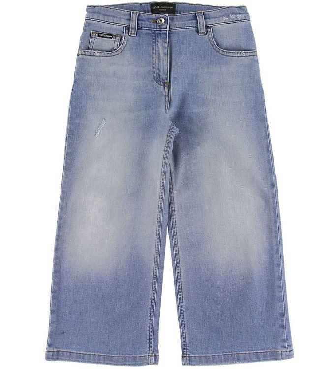 Image of Dolce & Gabbana Jeans - 3/4 - Blå (SR951)