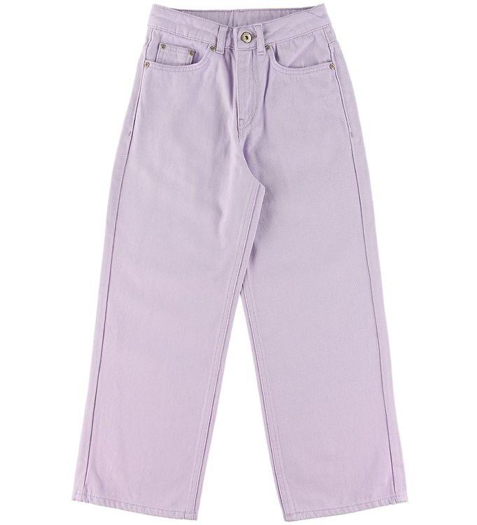 Image of Grunt Jeans - Wide - Lavendel (SS537)