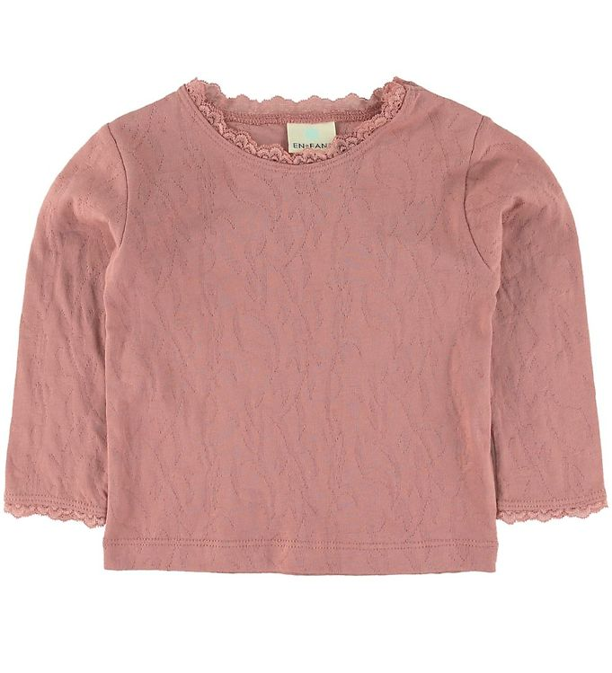 Image of En Fant Bluse - Ash Rose m. Blonder (SS727)