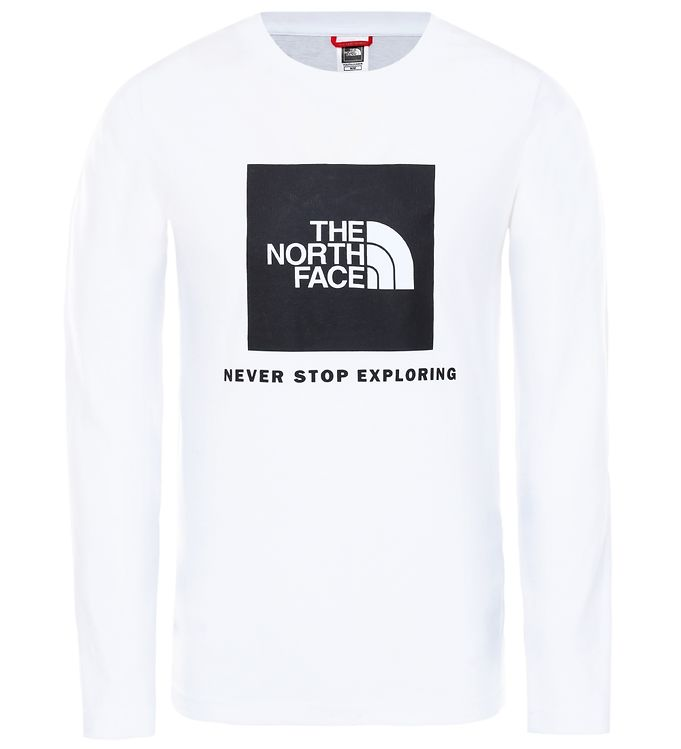 Image of The North Face Bluse - Box - Hvid m. Logo (ST011)