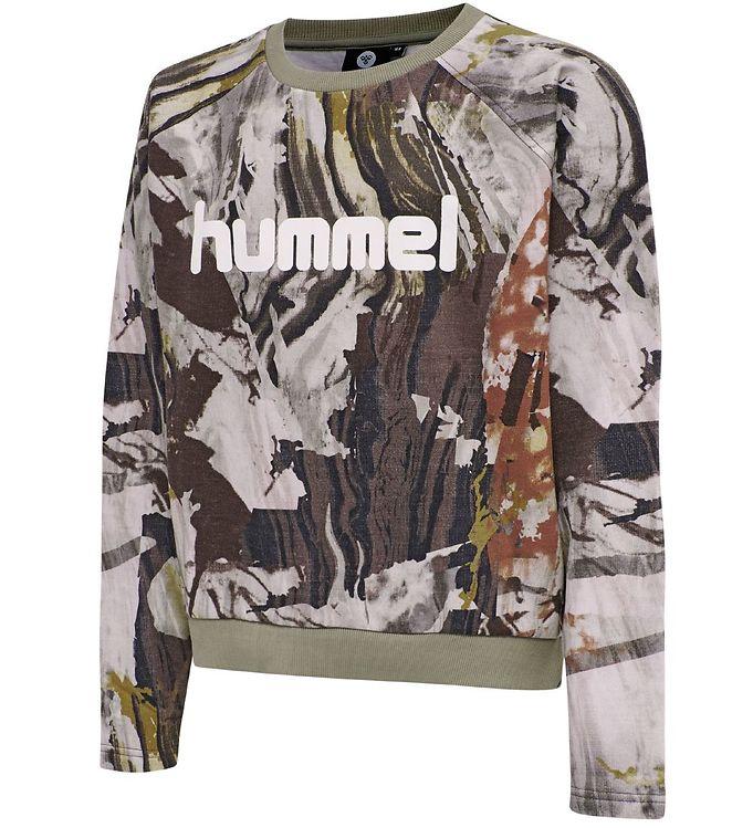 Image of Hummel Teens Sweatshirt - hmlFilli - Rosa Camo (ST221)