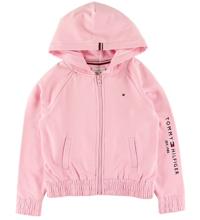 Image of Tommy Hilfiger Cardigan - Essential - Romantic Pink (ST503)