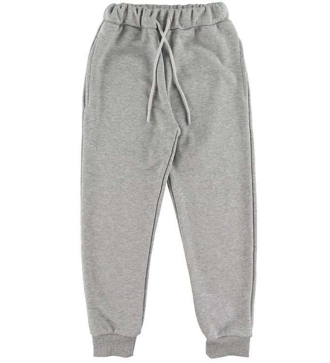 Image of Grunt Sweatpants - Ask - Gråmeleret (ST734)