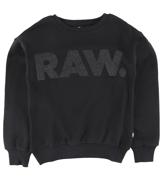 Image of G-Star RAW Sweatshirt - Sort m. Glimmer (ST779)