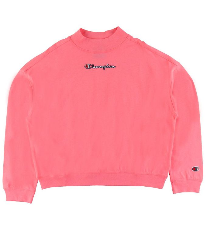 Image of Champion Bluse - Cropped - Pink (ST822)
