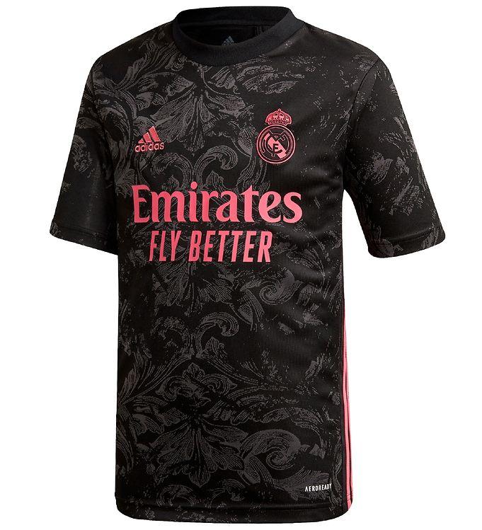 Image of adidas Performance Fodboldtrøje - Real Madrid - Sort (SU017)